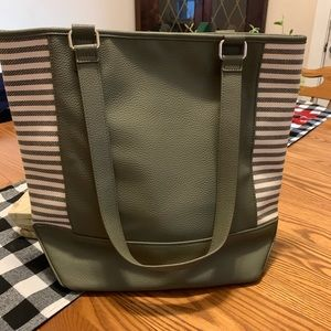 Thirty One color block tote